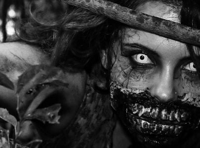 Cómo disfrazarte de Zombie
