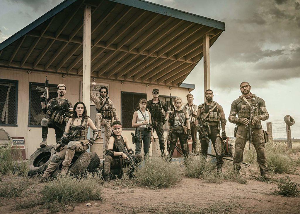 Army of the Dead en 2020 de Netflix y de Zack Snyder
