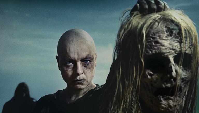 Personaje Alpha en la serie The Walking Dead